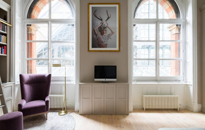 Houzz Tour: Jewel Tones Bring Out the Grandeur of a London Flat