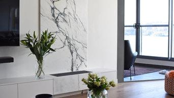 Kingston Foreshore living room refurbishment