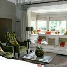 Traditional Living Room by Mandie Irons