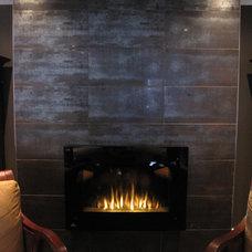 Contemporary Living Room Kingsway Reno