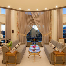 Traditional Living Room by Revision Interiors