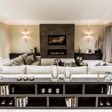 Contemporary Family Room by Luke Cartledge Photography