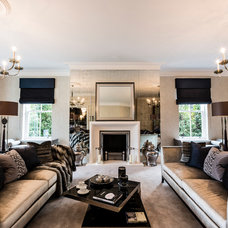 Contemporary Living Room by Luke Cartledge Photography