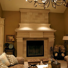 Traditional Living Room by B&B Builders