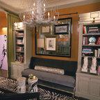 Western Springs Living Room Eclectic Living Room