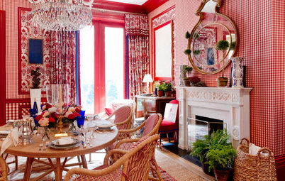 Colors and Patterns Wow at the 2015 Kips Bay Decorator Show House