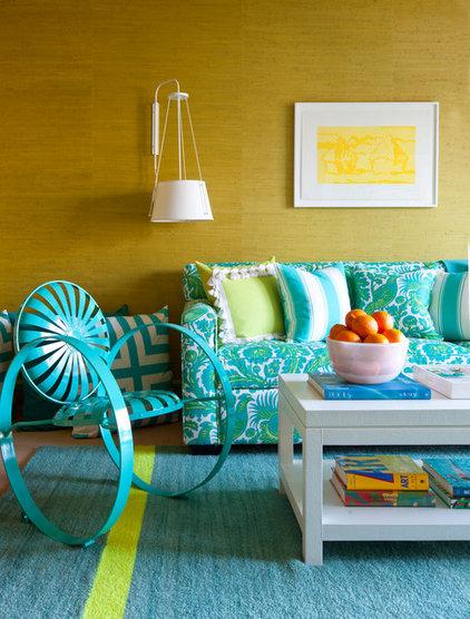 Eclectic Living Room by Scott Sanders LLC