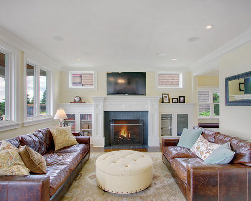 Hancock And Moore Leather Sofa | Houzz