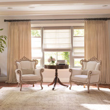 Traditional Living Room by Drapery Rods Direct
