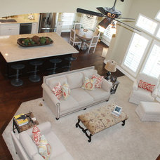 Traditional Living Room by Michelle's Interiors