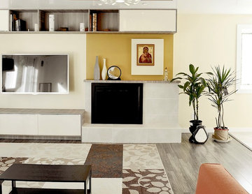 Kitchen and living design and remodel on a budget