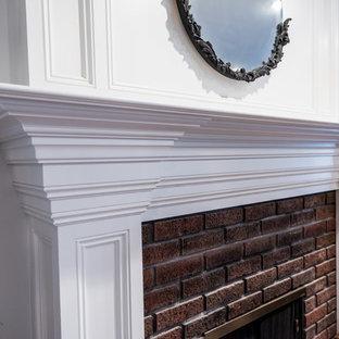 Kitchen, Interior Renovation and Custom Fireplace Design