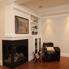 Traditional Living Room by JDL Homes Vancouver