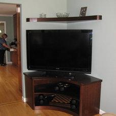 Contemporary Living Room by Kitt Haman Design