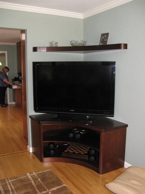 Corner Tv Stand Houzz