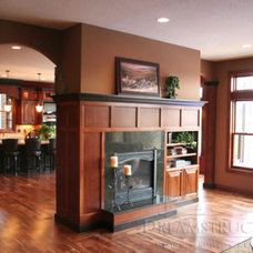 Traditional Living Room by The Cabinet Shoppe