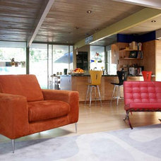 Modern Living Room by Klopf Architecture