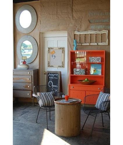 Eclectic Living Room Knack Studios