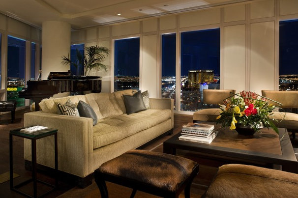 Contemporary Living Room by Knudson Interiors