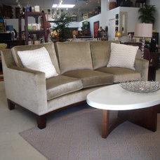 Contemporary Living Room by Kohler Jones custom furniture and design