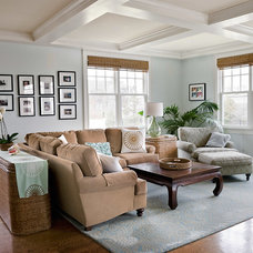 Traditional Living Room by Horner Millwork