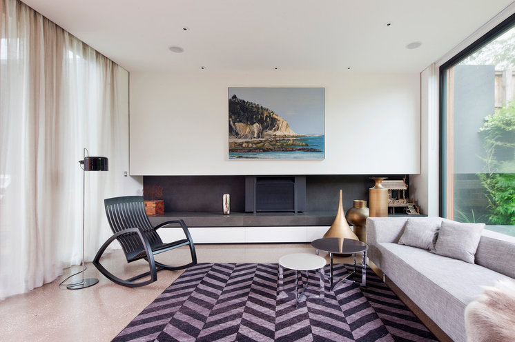 Contemporary Living Room by Matt Gibson Architecture + Design
