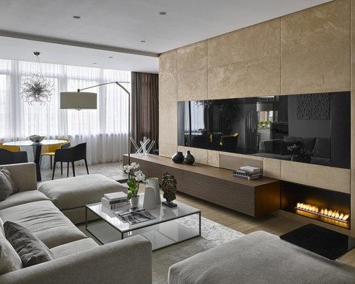 wohnen mit h ngekamin ideen houzz. Black Bedroom Furniture Sets. Home Design Ideas