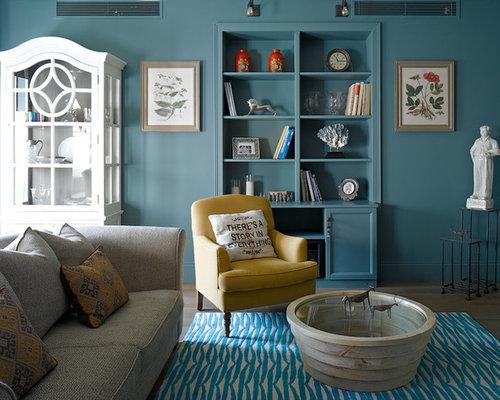 Colori per le pareti del soggiorno - Foto e idee   Houzz