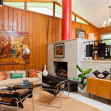 Midcentury Living Room by Andrew Sherman Photography