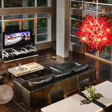 Contemporary Living Room by Benning Design Associates