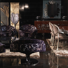 Eclectic Living Room by Duroque
