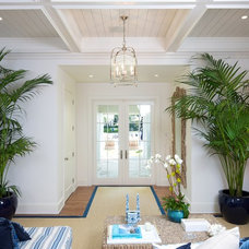 Traditional Living Room by Bart Reines Construction