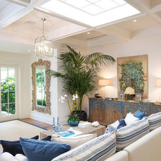 Beach Style Living Room by Bon Vivant