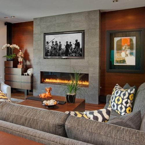 asiatische wohnzimmer mit kaminsims aus stein ideen. Black Bedroom Furniture Sets. Home Design Ideas