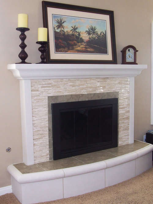 Daltile Fireplace Houzz