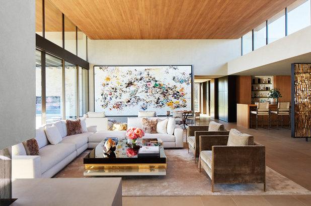 Modern Living Room by Bradshaw Construction