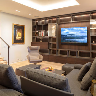 75 Beautiful Contemporary Living Room Ideas, Pictures ...