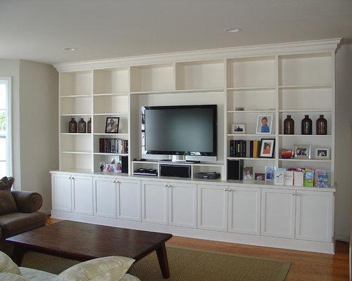 bookcase wall unit | houzz