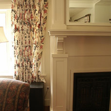 Traditional Living Room by Arbor Woodworking