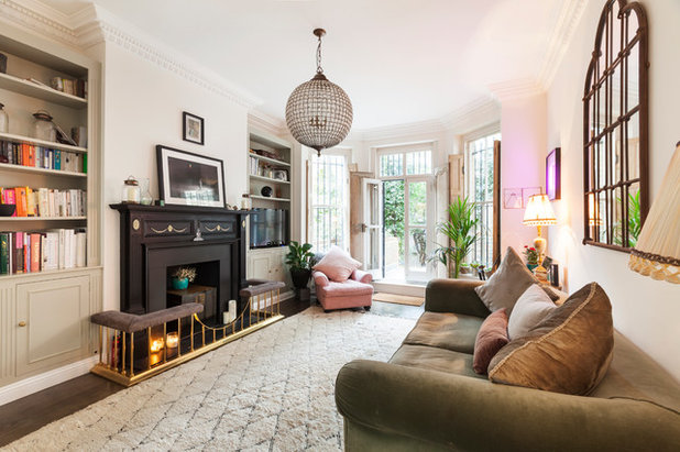 houzz envy snoop around a bohemian london flat with period details