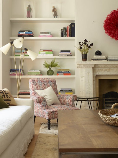 Transitional Living Room by Trend and Fayre