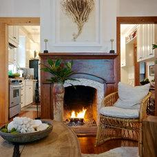Beach Style Living Room by Starr Sanford Design