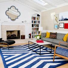 Midcentury Living Room by J Manning Studio