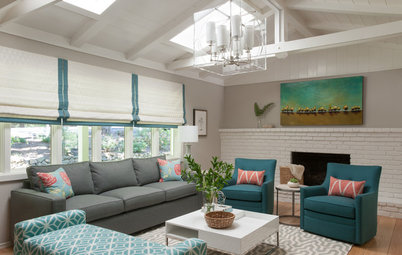 Room of the Day: Soothing and Sunny Living Room