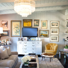 Eclectic Living Room by Michelle Workman Interiors