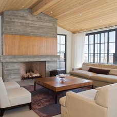 Contemporary Living Room by O plus L