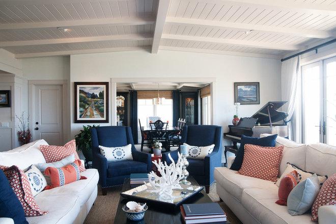 Traditional Living Room by Darci Goodman Design