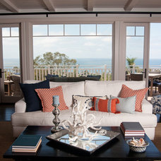 Traditional Living Room by Darci Goodman Design