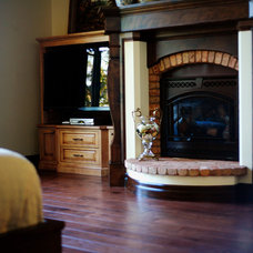 Mediterranean Living Room by Summitt Forest Products