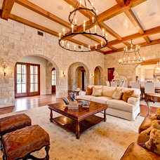 Rustic Living Room by The Design Source